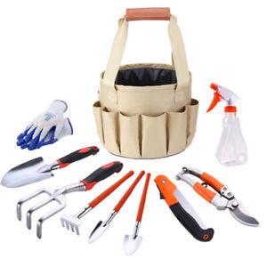 10Pcs Heavy Duty Gardening Hand Kit Tools Portable DIY Tool Set
