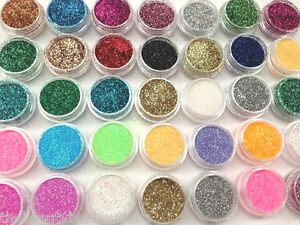 HOLOGRAPHIC-GLITTER-POTS-FINE-NAIL-ART-CRAFT-FACEPAINTING-TATTOO-EYE-SHADOW