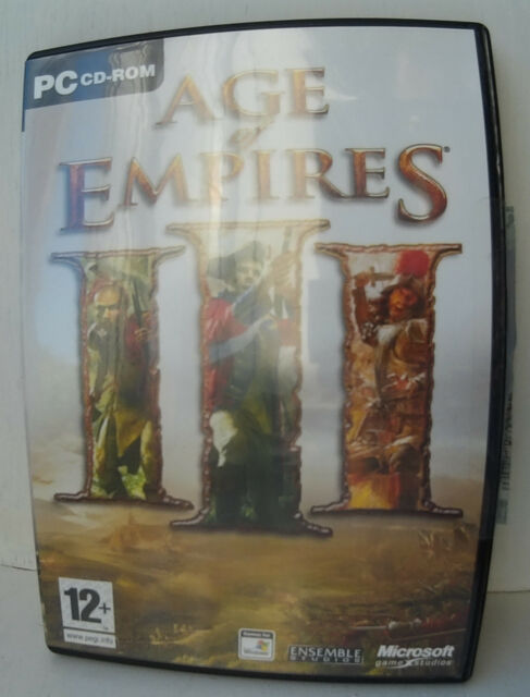 Age    of     Empires    III    PC  CDRom   Game