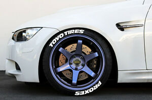 image is loading white tire lettering toyo tires proxes 1 034
