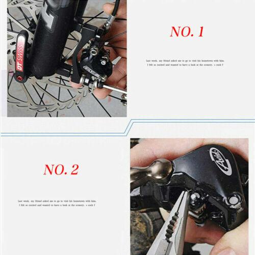 4Pairs Bicycle Resin Disc Brake Pads For Shimano M375 M446 Tektro Auriga Pro New