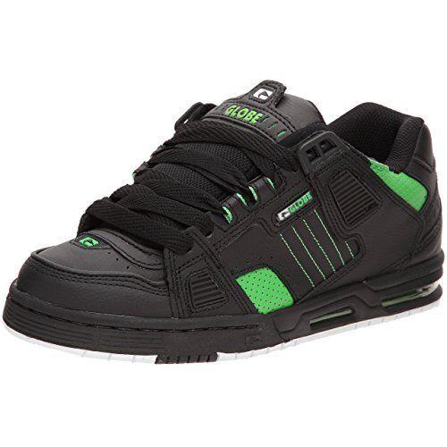 new styles 86b6a 659a7 46 Moto Sable 45 44 Skate 42 Zapatos 43 Verde 41 Globe Negro fnUpPx