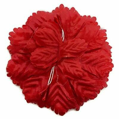 Pack of 72 Pieces Flower Carnation Capia Backs Favors Chest Party Favor Red