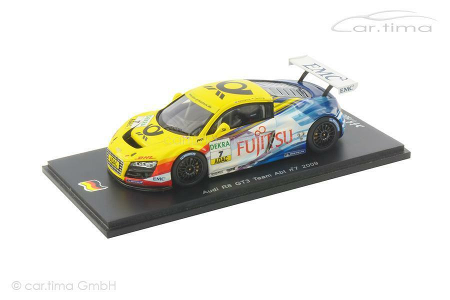 Audi r8 gt3-ADAC GT Masters 2009-Williams terting - 1 of 500-Spark - 1 4
