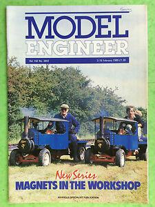 Model-Engineer-No-3842-Februar-1989-Magnete-IN-Der-Werkstatt-Neu-Serie