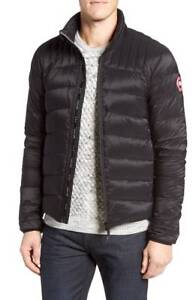 1475-CANADA-GOOSE-Mens-Black-Slim-Fit-DOWN-PUFFER-JACKET-WINTER-COAT-Size-S
