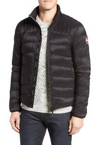 1450-CANADA-GOOSE-Mens-Black-Slim-Fit-DOWN-PUFFER-JACKET-WINTER-COAT-Size-S