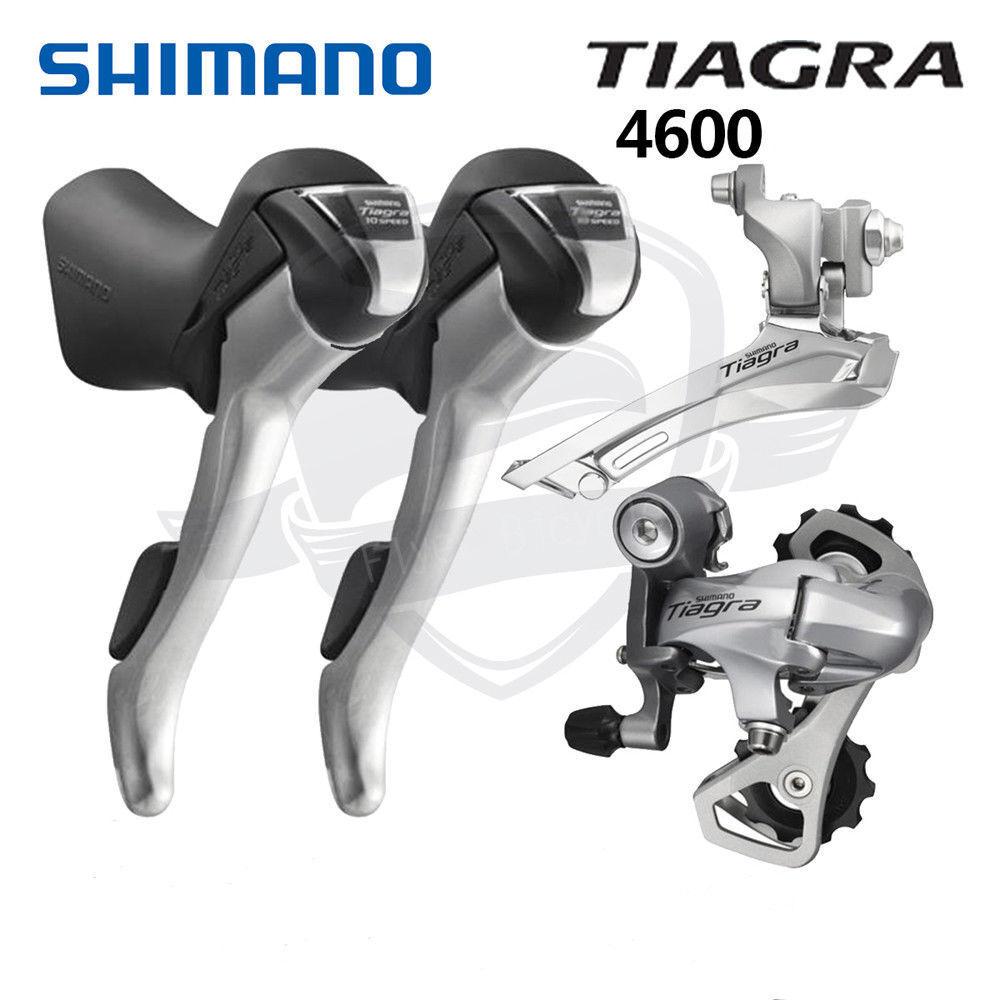 Shimano Tiagra 4600 Groupset 2x10 Speed Road Bike Shifters Derailleur Mini Set