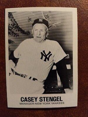 1977 Tcma Renata Galasso 13 Casey Stengel Baseball Card Ebay