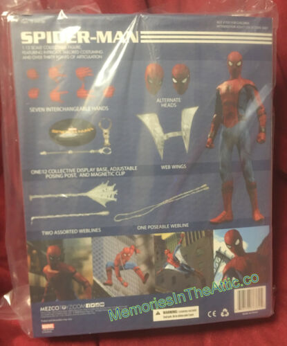 Mezco Toyz One:12 Collective Spider-Man Homecoming Marvel Comics Action Figure