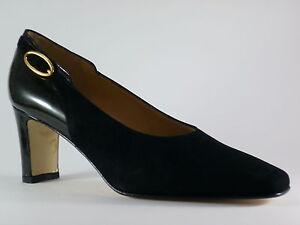 Noir Soirée Marcantoni 41 Velours De Neuf Penture Chaussures Femmes Escarpins BpXpq07