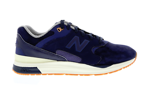 Mens NEW BALANCE 1550 Navy bluee Suede Casual Trainers ML1550SC RRP .99