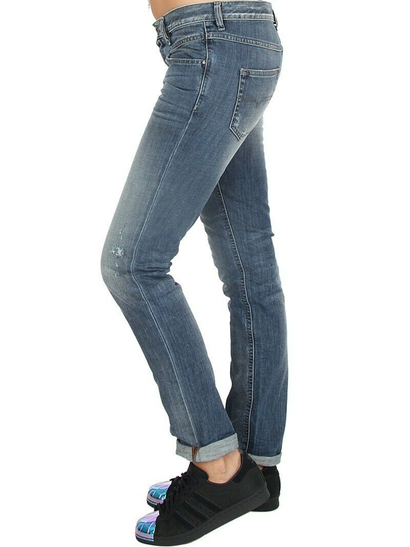 Jeans Diesel Belthy 0853S Regular Slim Straight Low Waist  W 30 ( 26) L32 blue