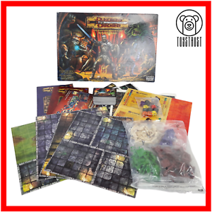 Dungeon-amp-Dragons-Board-Game-The-Fantasy-Adventure-Fun-Age-10-2003-by-Parker