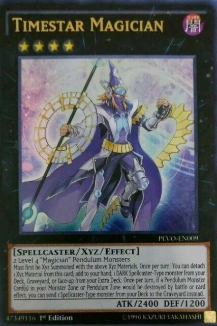3x Star Pendulumgraph 1st Edition Ultra Rare PEVO-EN007 Yu-Gi-Oh!