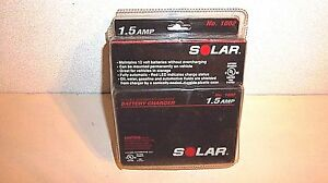 Solar 1002 1 5 Amp Underhood 12v Automatic Battery