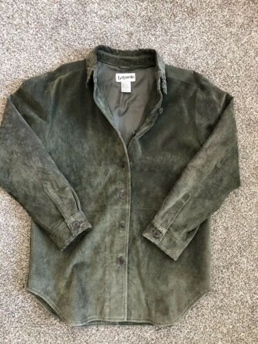 Vintage ~ Bagatelle Womens  Leather Jacket Dark Ol