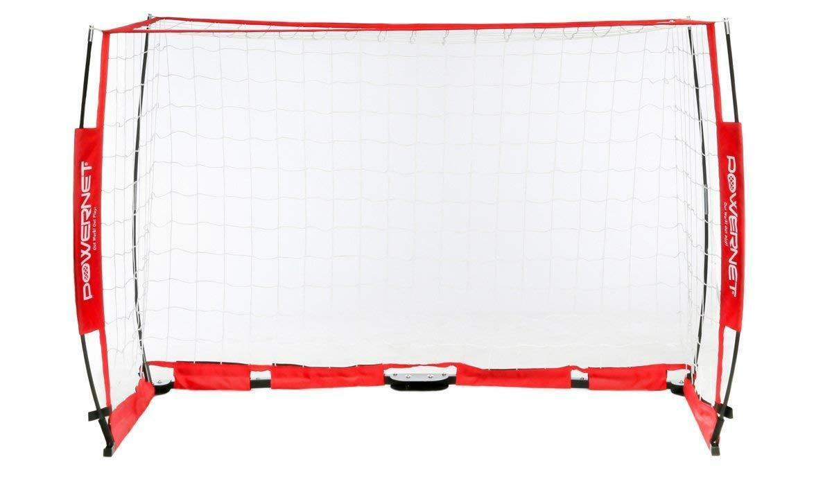 Refurbished PowerNet Portable 3x2 Meter Futsal Soccer Soccer Soccer Goal Full Regulation Größe 7432b6
