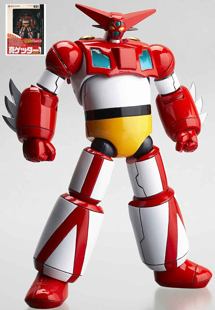 Getter 1 Getta Kaiyodo Legacy Of Revoltech 031 Action Figure Robot