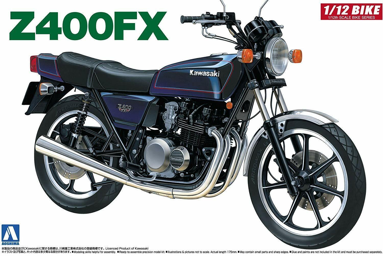 Aoshima Naked Bike 04 Kawasaki Z400FX 1 1 1 12 scale kit