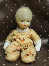 Seltene alte Rasel Puppe DDR Geräusche  Dringend anschauen RAR