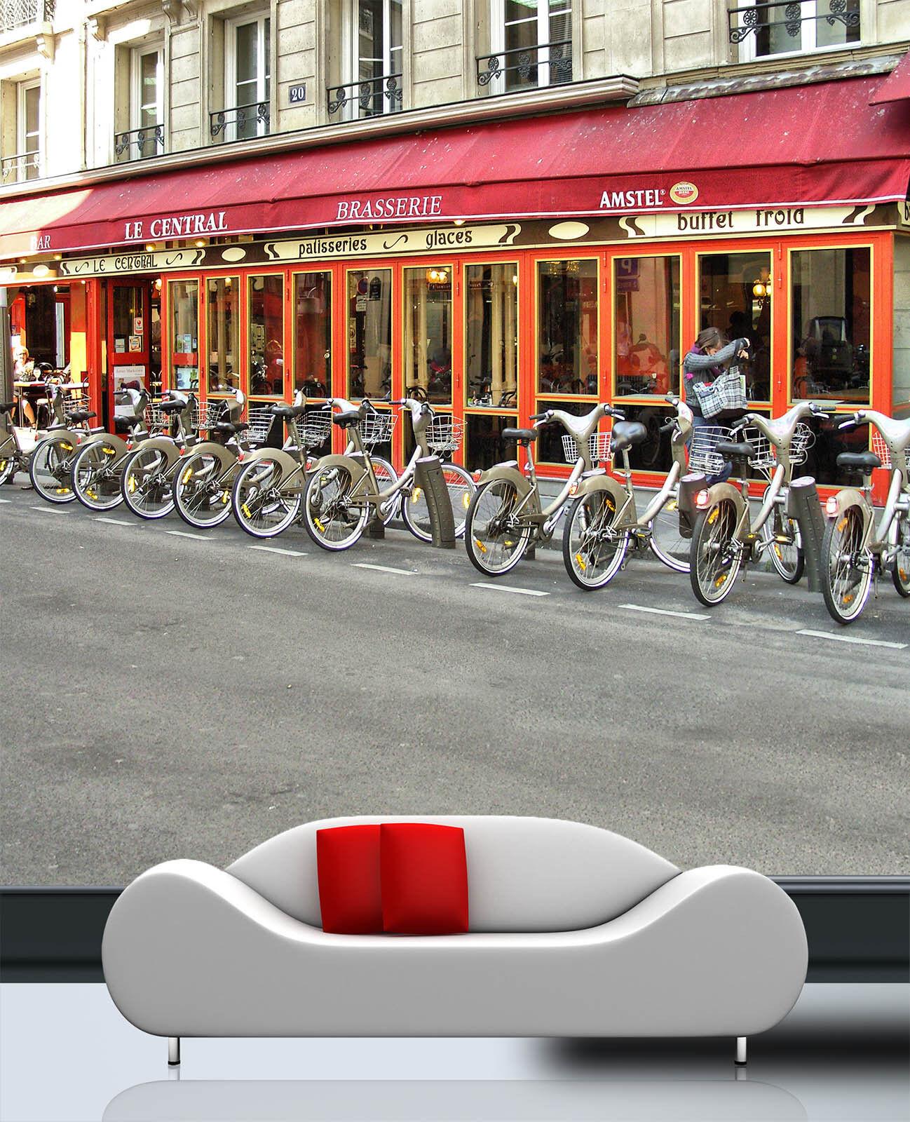3D öffentliche fahrrad 992 Fototapeten Wandbild Fototapete BildTapete Familie DE