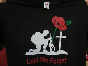04999ff0b Lest we Forget Poppy Adult T-shirts / Sweatshirt - 10% to Royal British ...