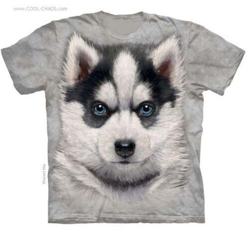 Sweet T dogs Tee Puppy Dog pup Dye graffiti Husky tie Tee shirt Siberian trBRwgqr