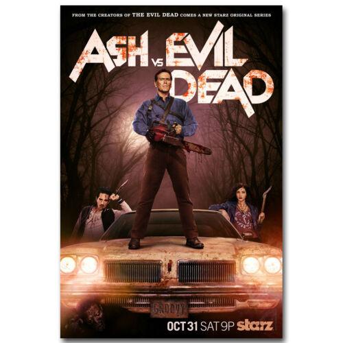 Ash vs Evil Dead Movie Silk Poster 12x18 24x36 inch 003