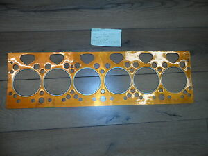 Details about PERKINS 6 354 QUALITY COPPER HEAD GASKET MADE IN ENGLAND
