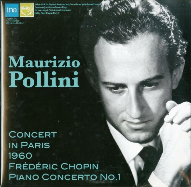 MAURIZIO POLLINI & PAUL...-CHOPIN: PIANO CONCERTO NO.1-JAPAN LP Ltd/Ed X23