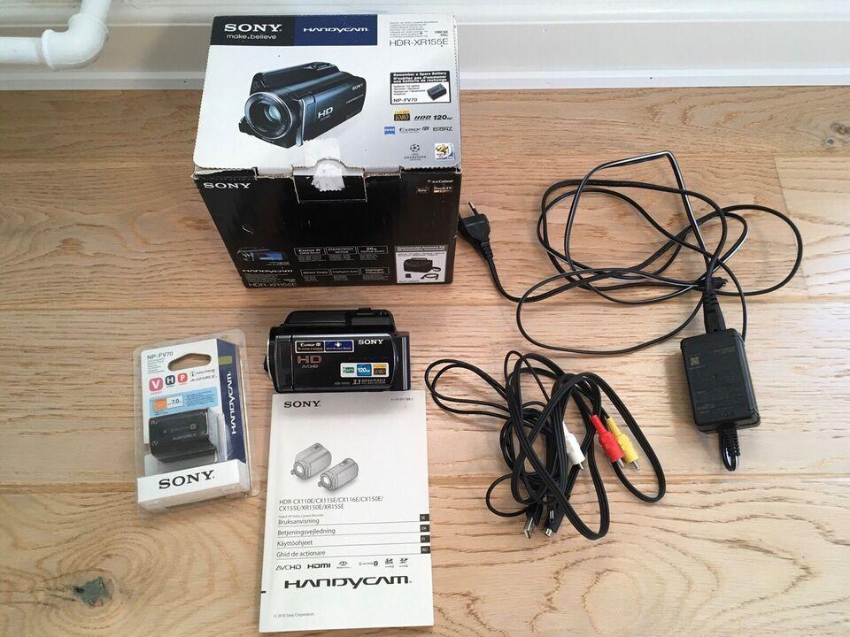 Full HD videokamera, digitalt, Sony