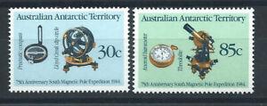 Australie-Territoire-antarctique-N-61-62-MNH-1984-Expedition-au-pole