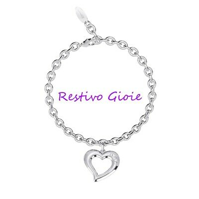 2 Jewels Bracciale Donna 231838 Acciaio 316L Link with love
