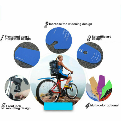 Ass Bicycle Fender Mountain Bike Spare Parts Mudguards Road Rain Saver Removable
