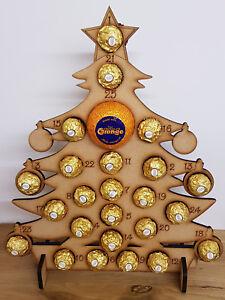 Calendario Avvento Ferrero.Dettagli Su In Legno Calendario Dell Avvento Si Adatta Ferrero Rocher Chocolate Orange Albero Di Natale Mostra Il Titolo Originale