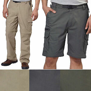 NEW-BC-Clothing-Mens-Convertible-Stretch-Cargo-Hiking-Active-Pants-Shorts-F22