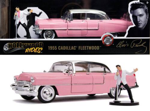 1955 cadillac fleetwood elvis presley figura 1:24 jada Toys 31007