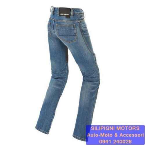 806 Blue Used Medium Pantalone SPIDI FURIOUS PRO LADY J70 Denim Jeans Donna Col