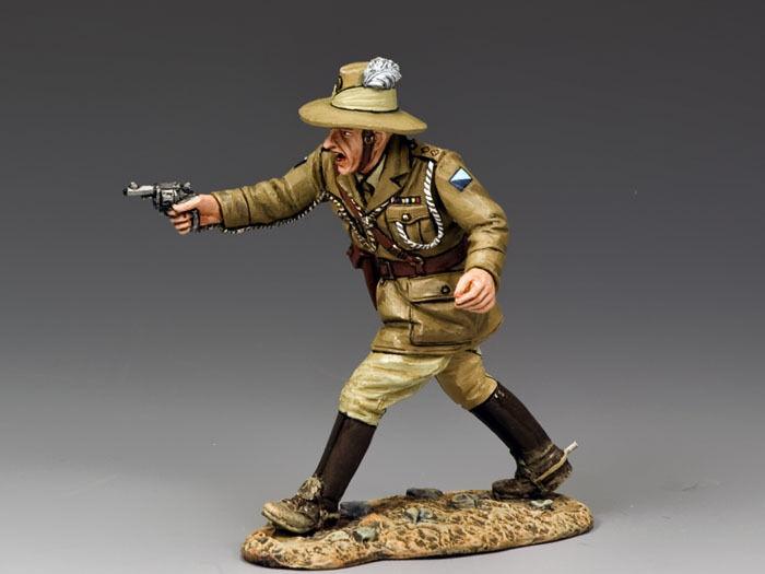 King and Country Australian avec Light Horse officier avec Australian pistolet AL41 AL041 eb3afd