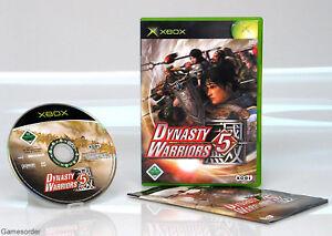 Dynasty Warriors 5 OVP/Anl. (Xbox Spiel)