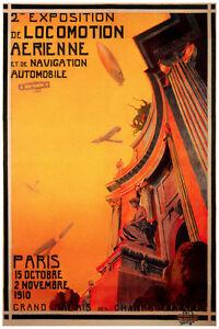 2502.Paris Futurism Deco POSTER.Locomotion.Home decor interior room design art