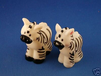Fisher Price Little People Ark Zoo Zebra pair female male