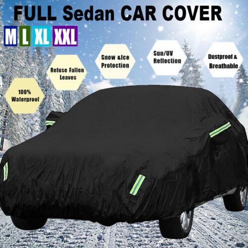 420D Oxford Auto Abdeckung Wasserdicht Reißfest UV Schutz Für Sedan M//L//XL//XXL