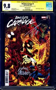 Absolute-Carnage-5-BAGLEY-VARIANT-CGC-SS-9-8-signed-x2-Cates-amp-Stegman