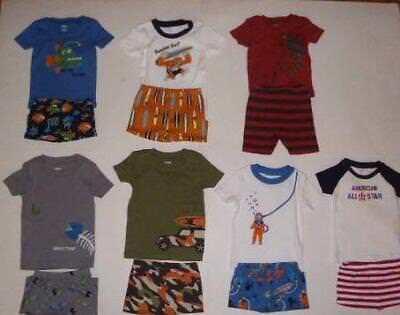 Gymboree Gymmies Pajamas Sleepwear Toddler Boys Spring//Summer 2pc Sets UPic NEW