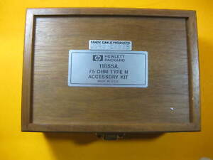 Agilent HP 75ohm Type N Accessory Kit 11855A Used