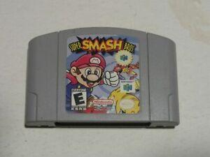 Super Smash Bros Nintendo 64 N64 Auténtico Original Equipment Manufacturer Cartucho sólo probado Funcionando vf