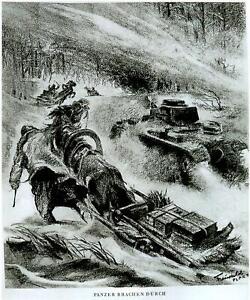 Kampfgebiet-Orel-Russland-Winter-42-43-034-Panzer-brechen-durch-034-Berichter-Freiwald