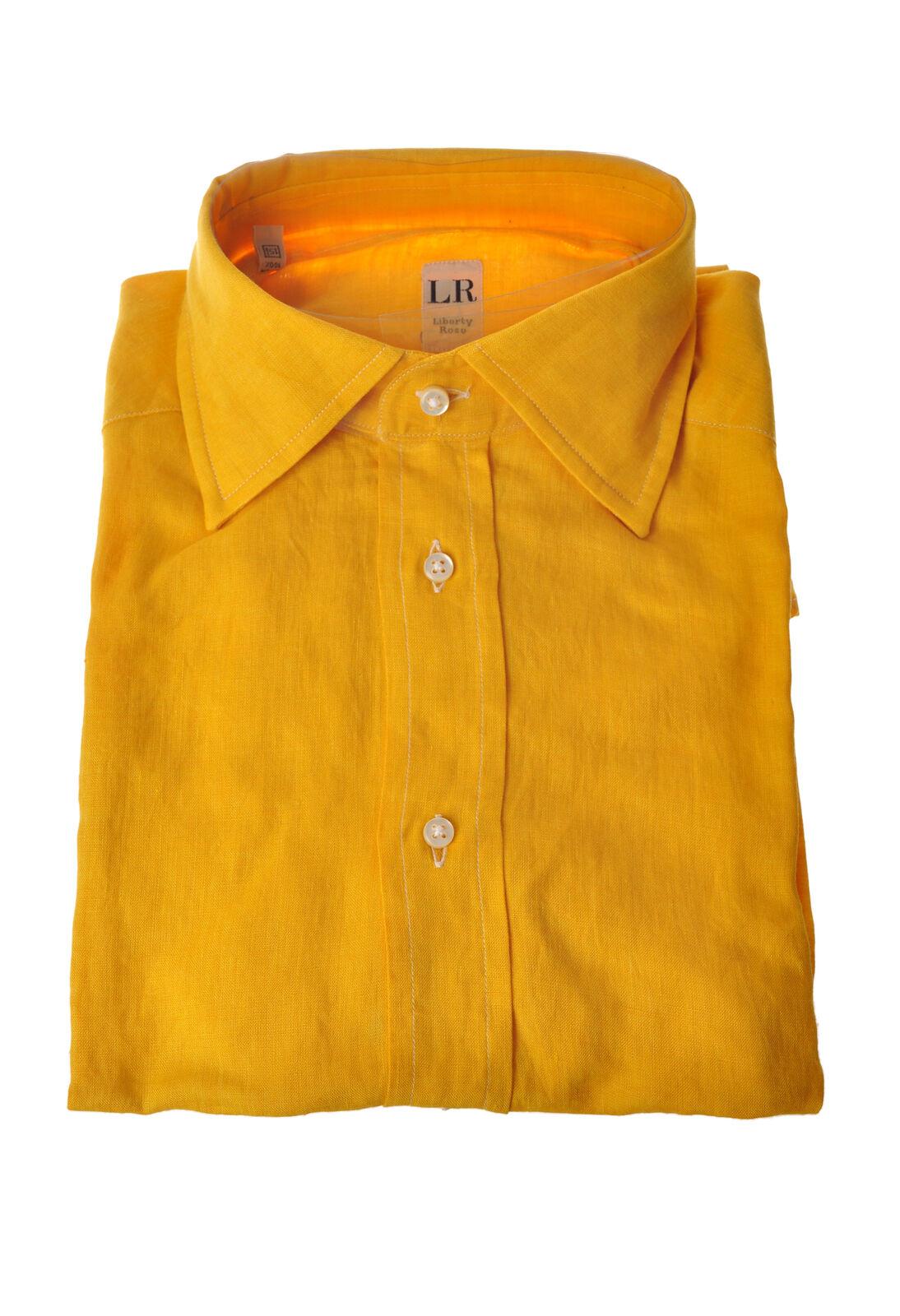 Liberty pink  -  Shirt - Male - Yellow - 3456421A182819